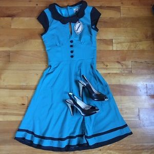 Retro Rockabilly Pin Up Modcloth Banned Dress